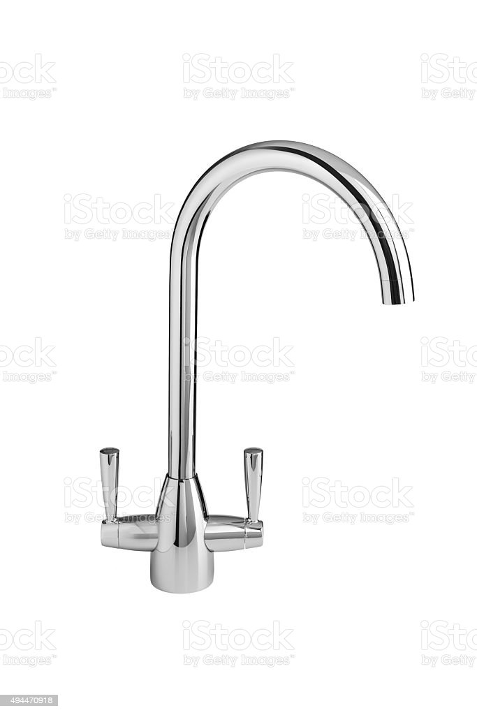 Kitchen Tap Faucet stock photo