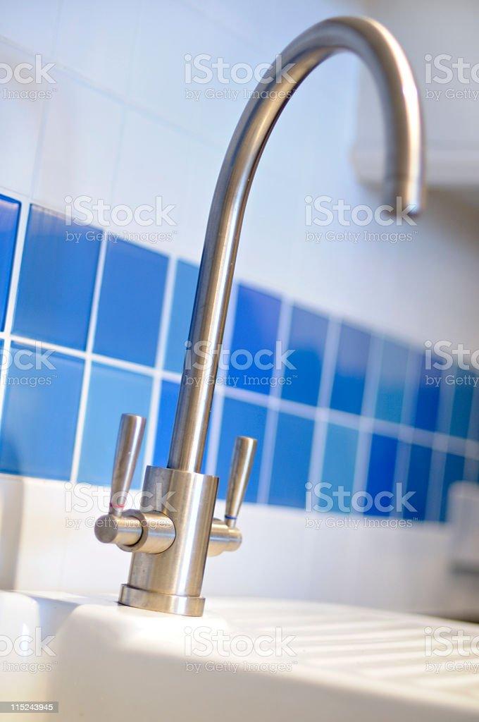 Kitchen tap royalty-free stock photo