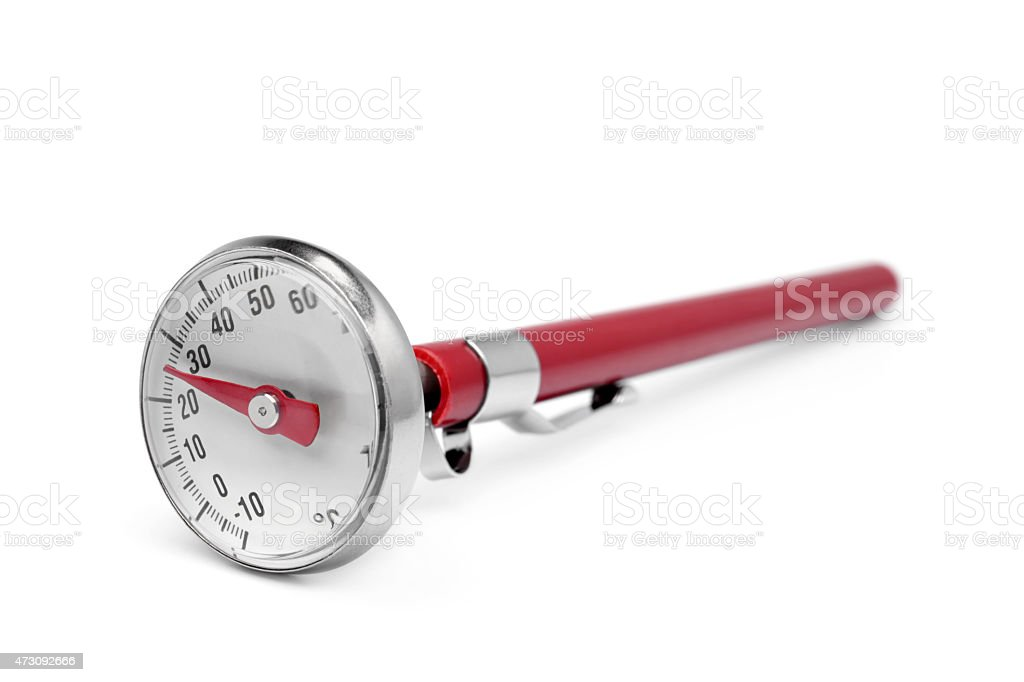 Kitchen thermometer stock photo