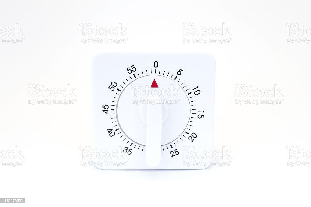 Kitchen timer stock photo