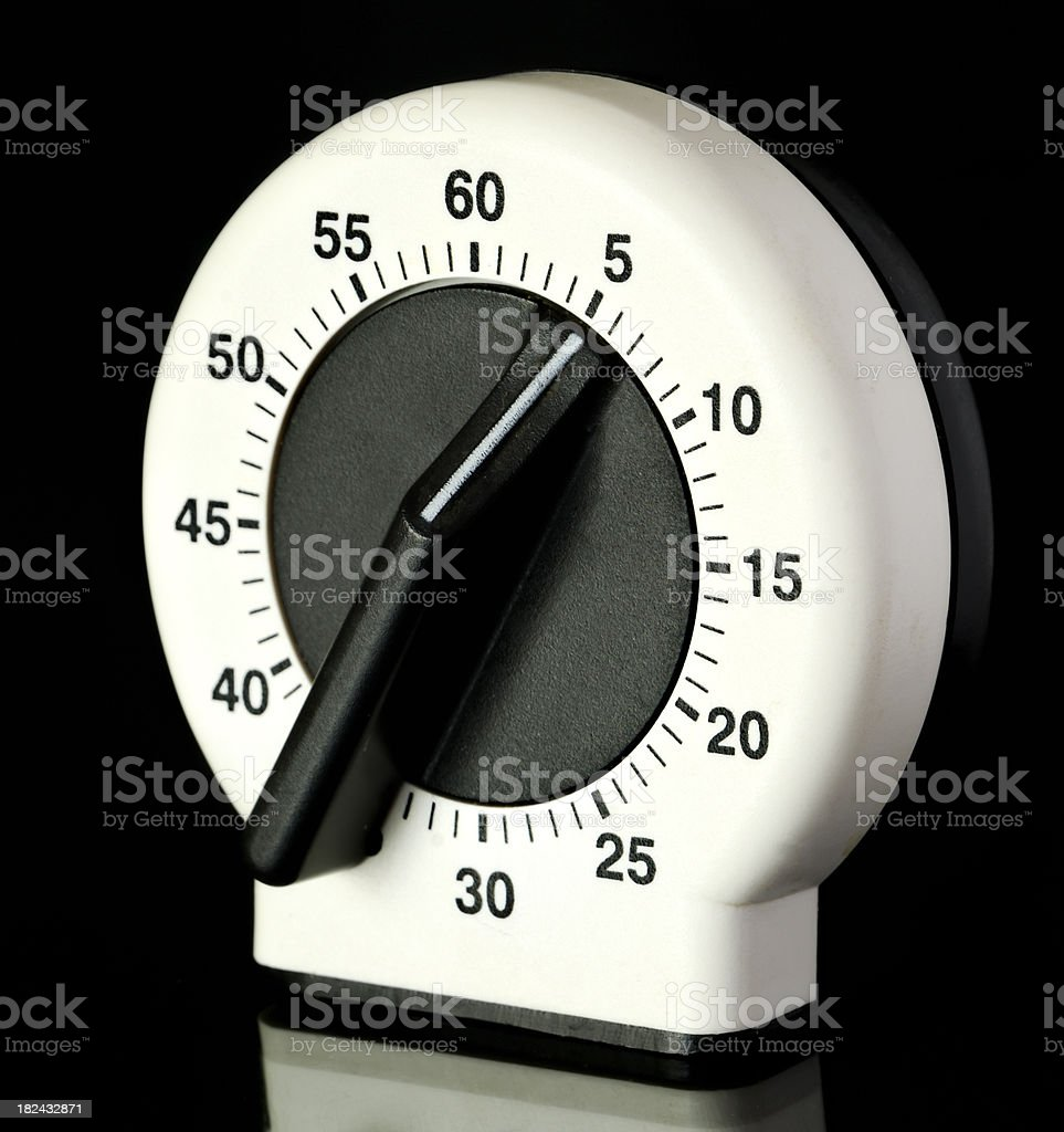 Kitchen Timer royalty-free stock photo