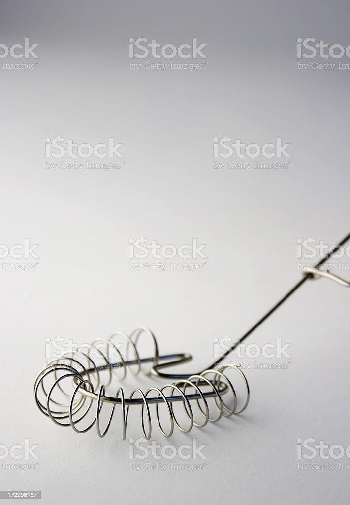 Kitchen Tool - Spiral Whisk Vt stock photo