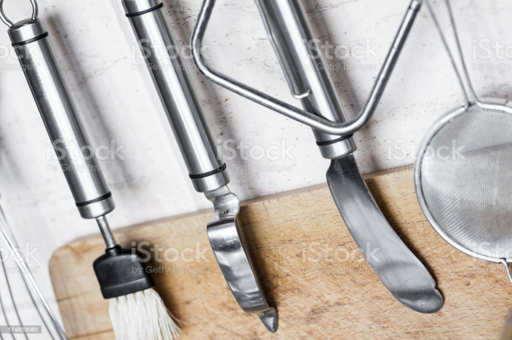 Kitchen tools royalty-free stock photo