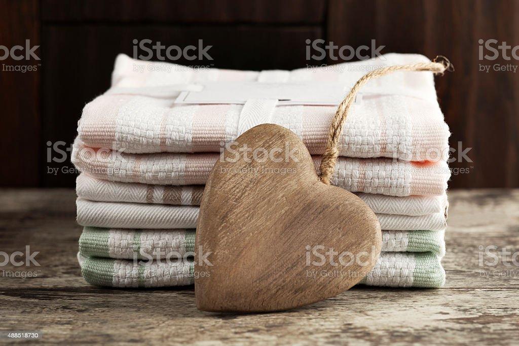 kitchen towel,Napkin, stock photo