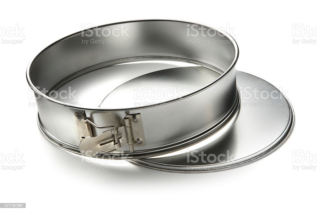 Kitchen Utensils: Baking Tin royalty-free stock photo