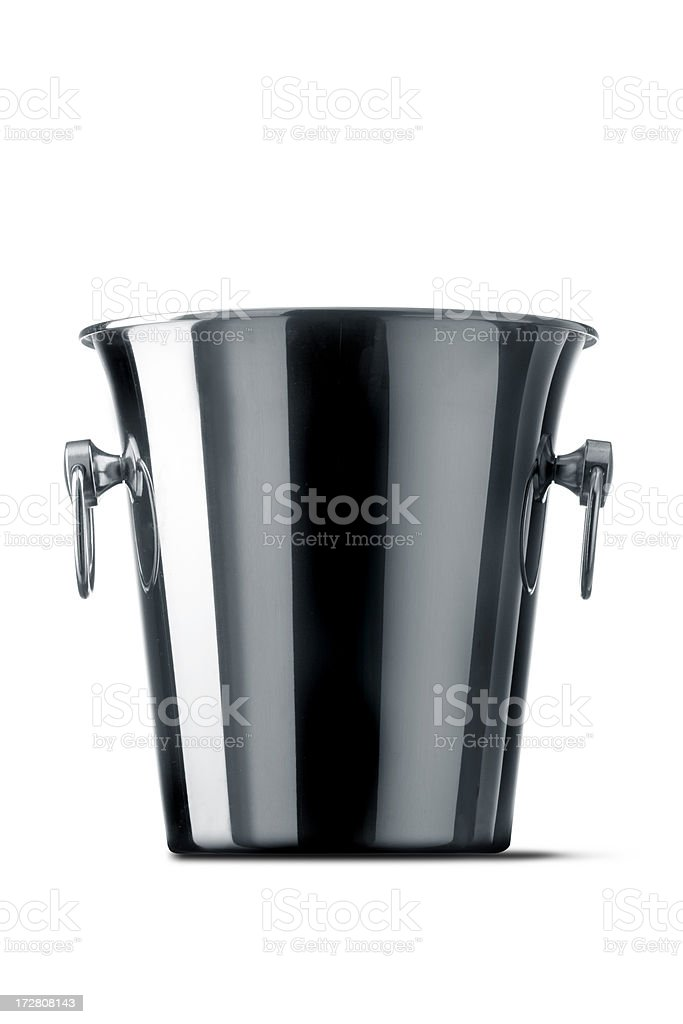 Kitchen Utensils: Champagne Cooler stock photo