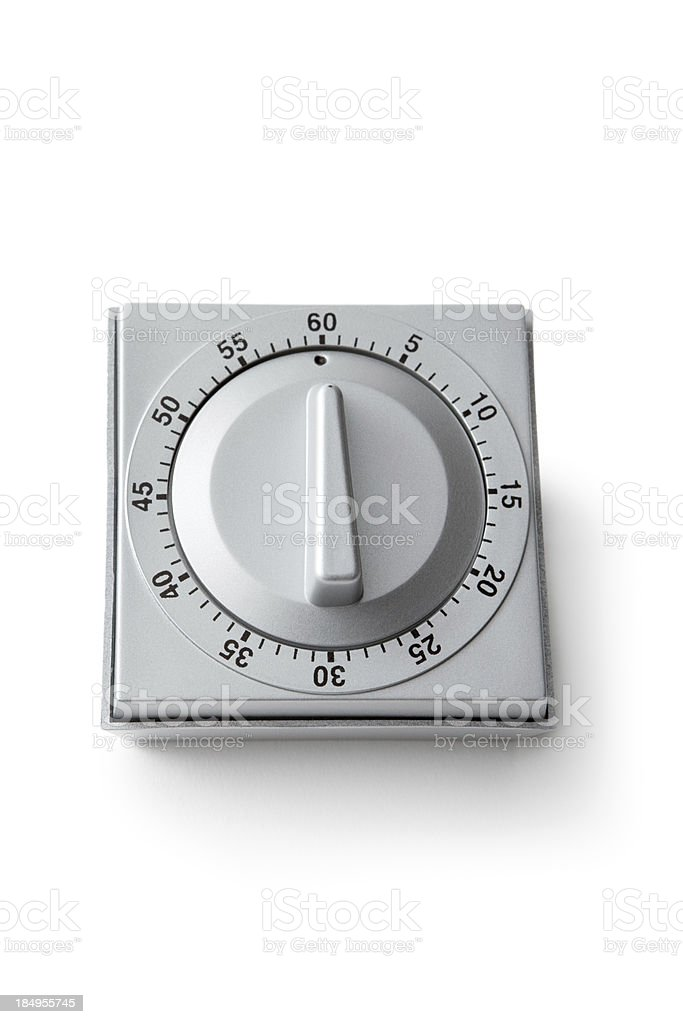 Kitchen Utensils: Egg Timer stock photo