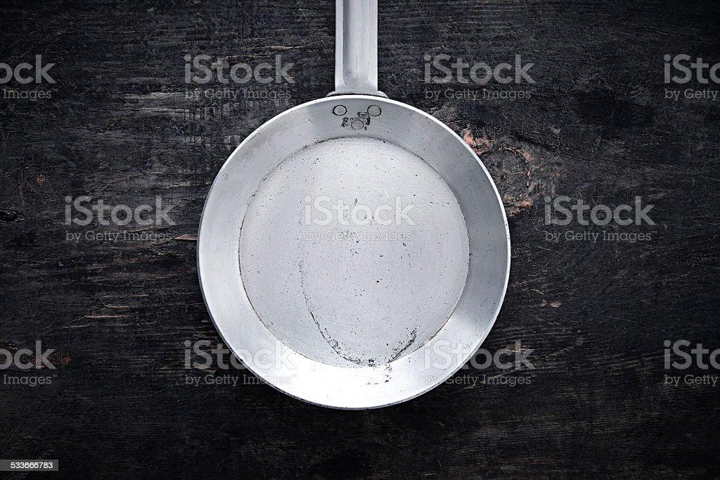 Kitchen utensils - Frying-pan stock photo