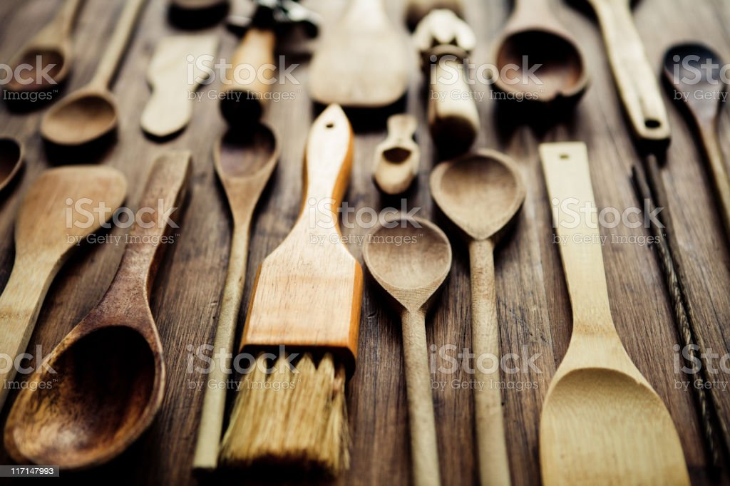 Kitchen Utensils royalty-free stock photo