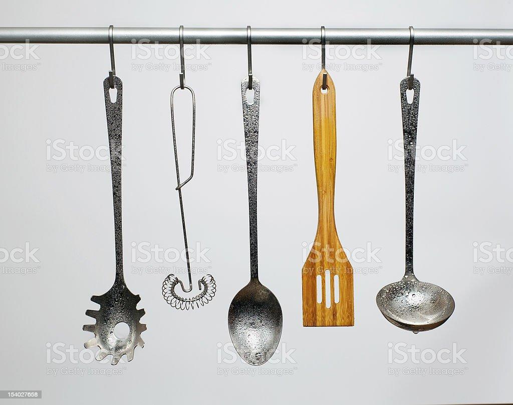 Kitchen utensils royalty-free stock photo