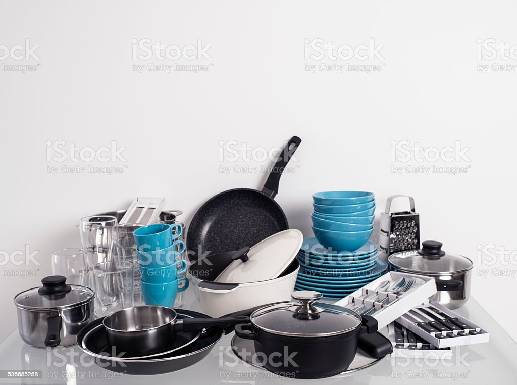 Kitchen utensils. stock photo