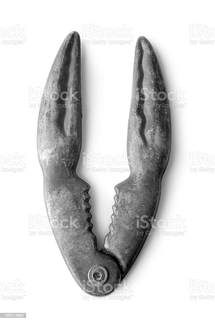 Kitchen Utensils: Seafoodcracker stock photo