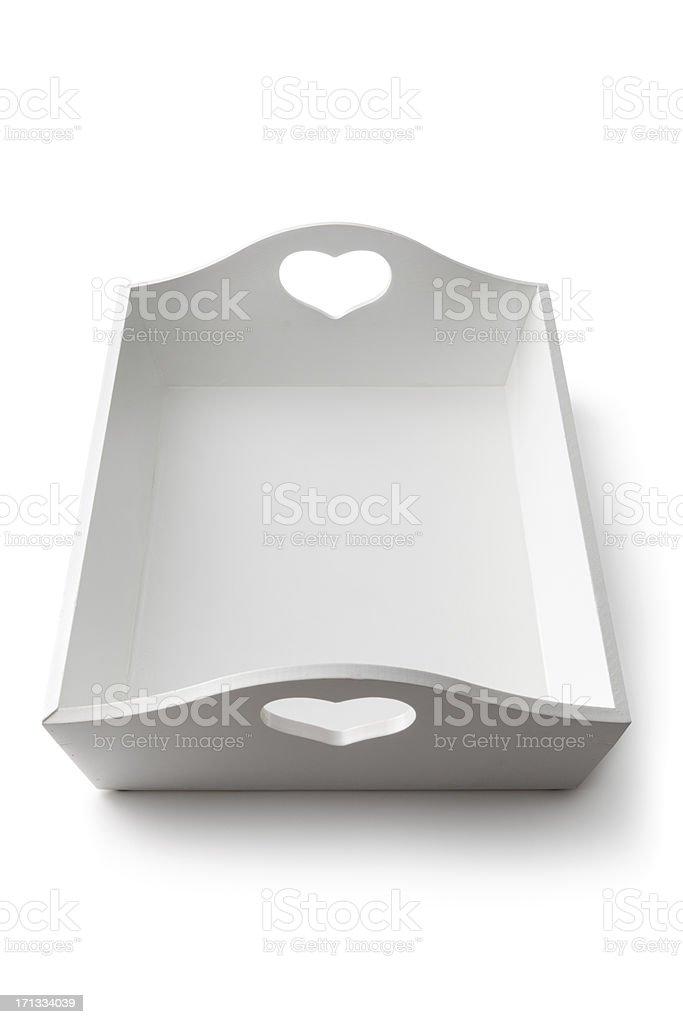 Kitchen Utensils: Tray stock photo