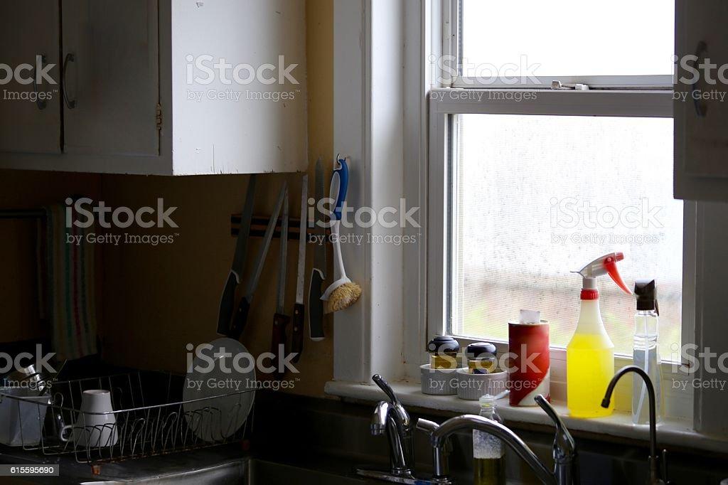 Kitchen View stock photo
