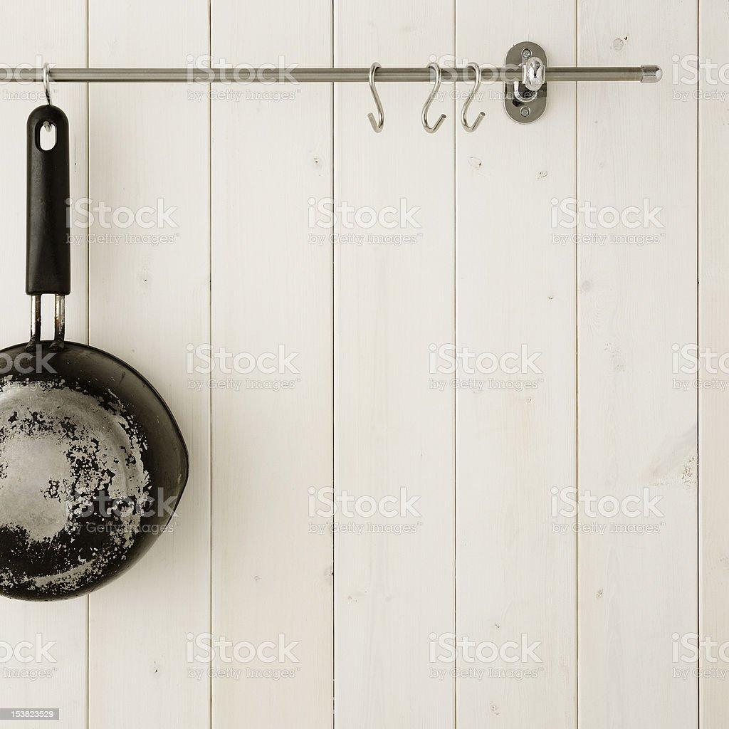 Kitchen wall royalty-free stock photo