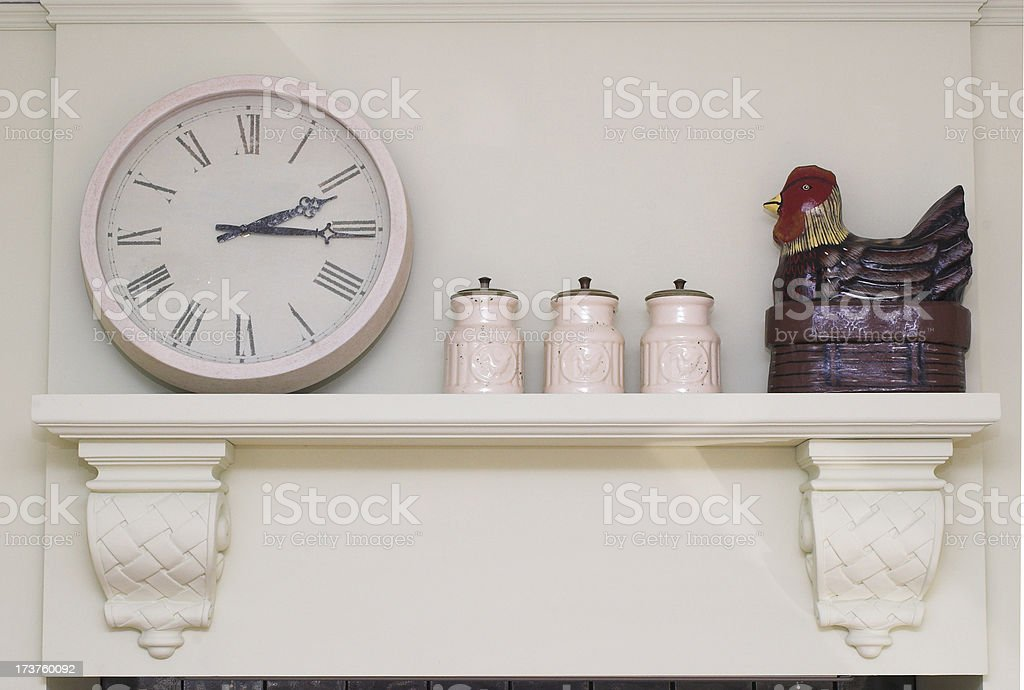 kitchen wall royalty-free stock photo