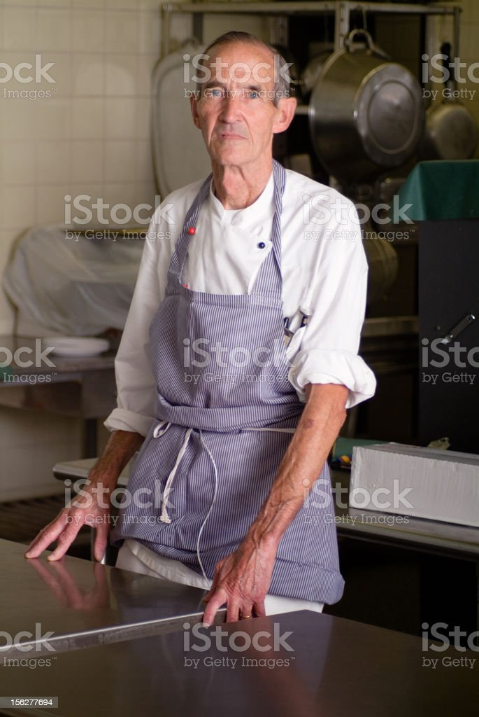 Kitchen Worker Series royalty-free stock photo