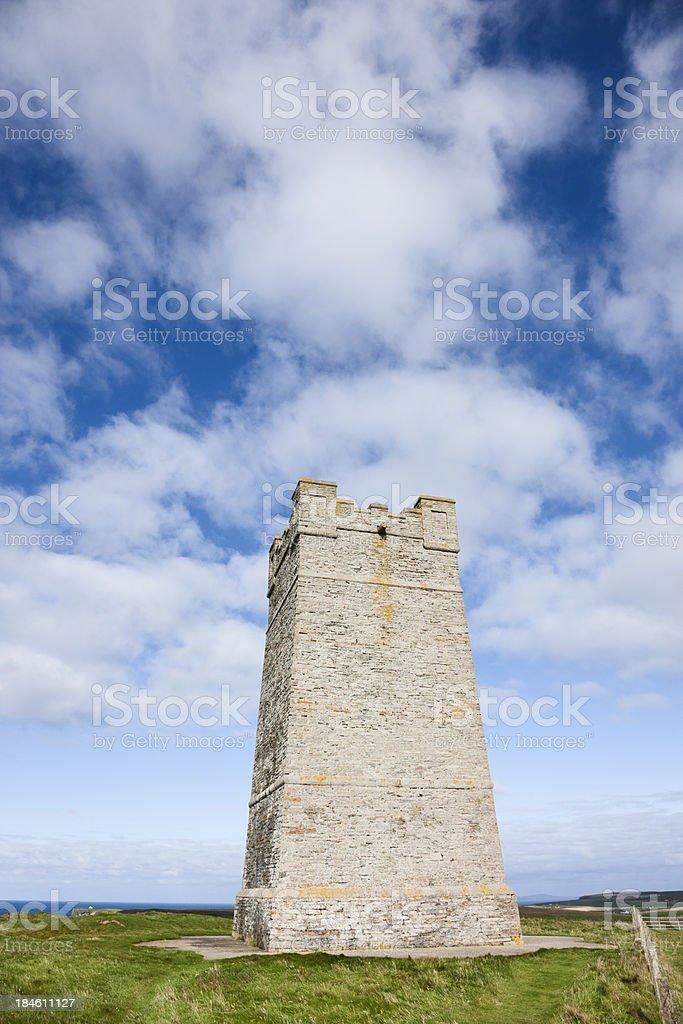 Kitchener Memorial Tower stock photo