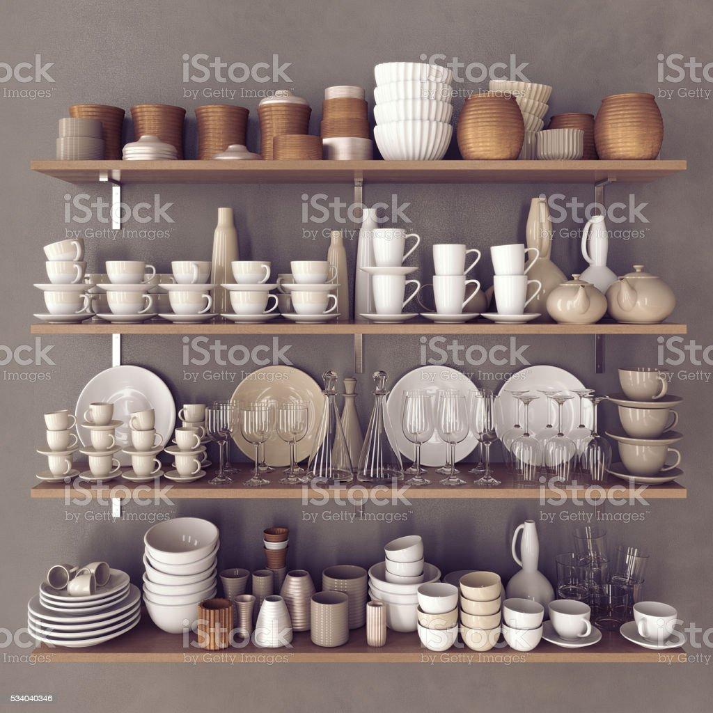 Kitchenware stock photo