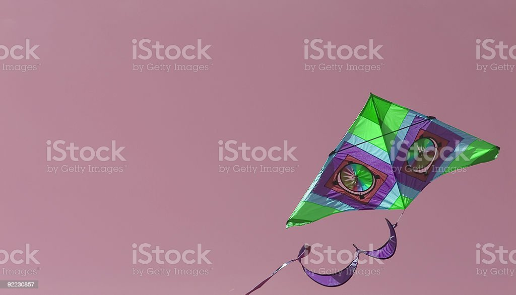 Kite 2 royalty-free stock photo