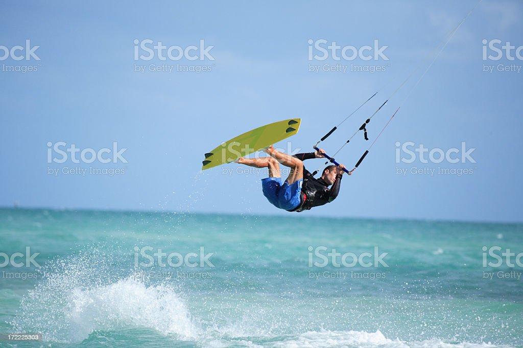 kite man stock photo