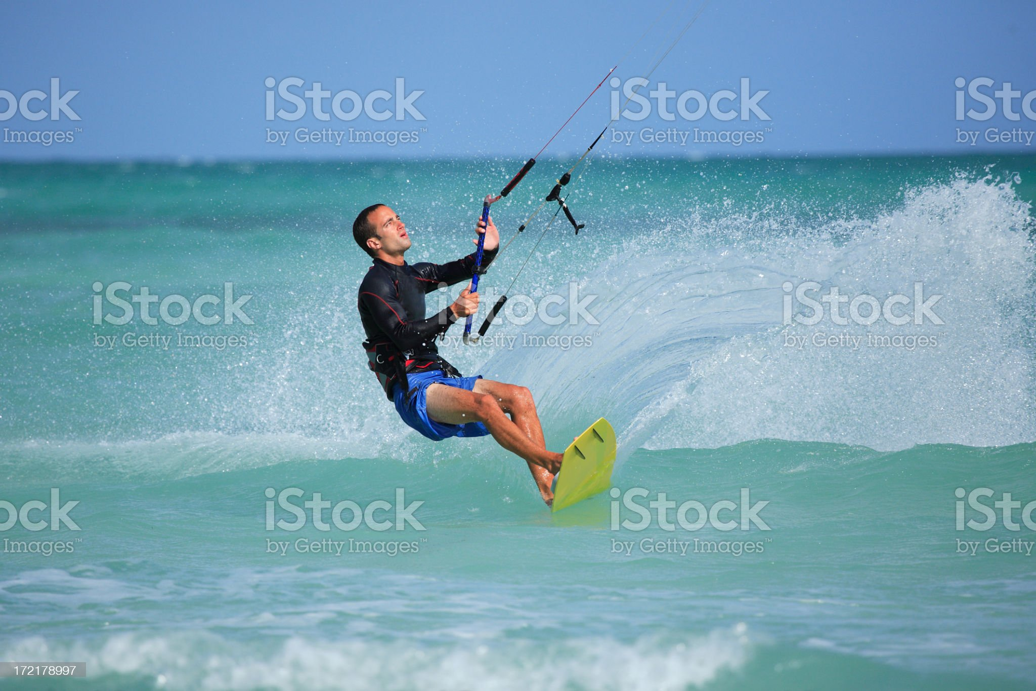 kite surfer royalty-free stock photo