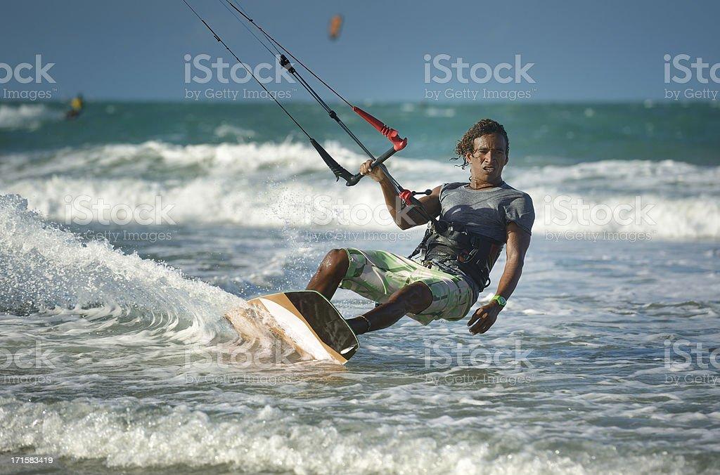 Kitesurfer royalty-free stock photo