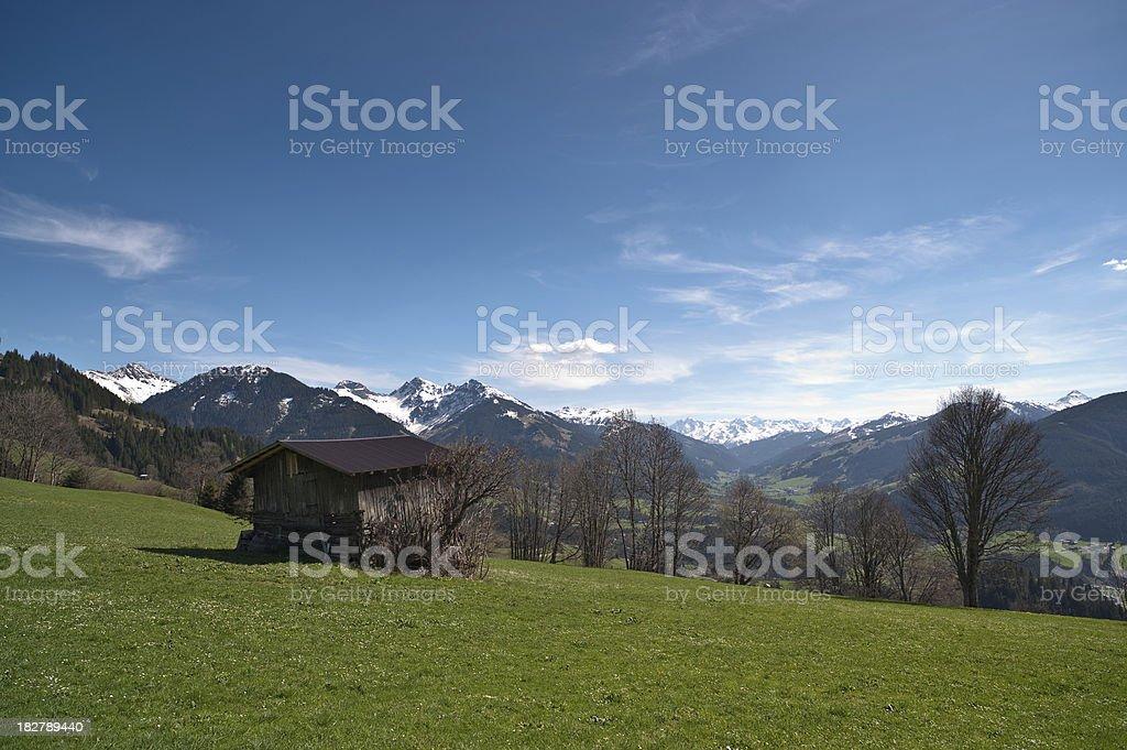 Kithbühl Mountains stock photo
