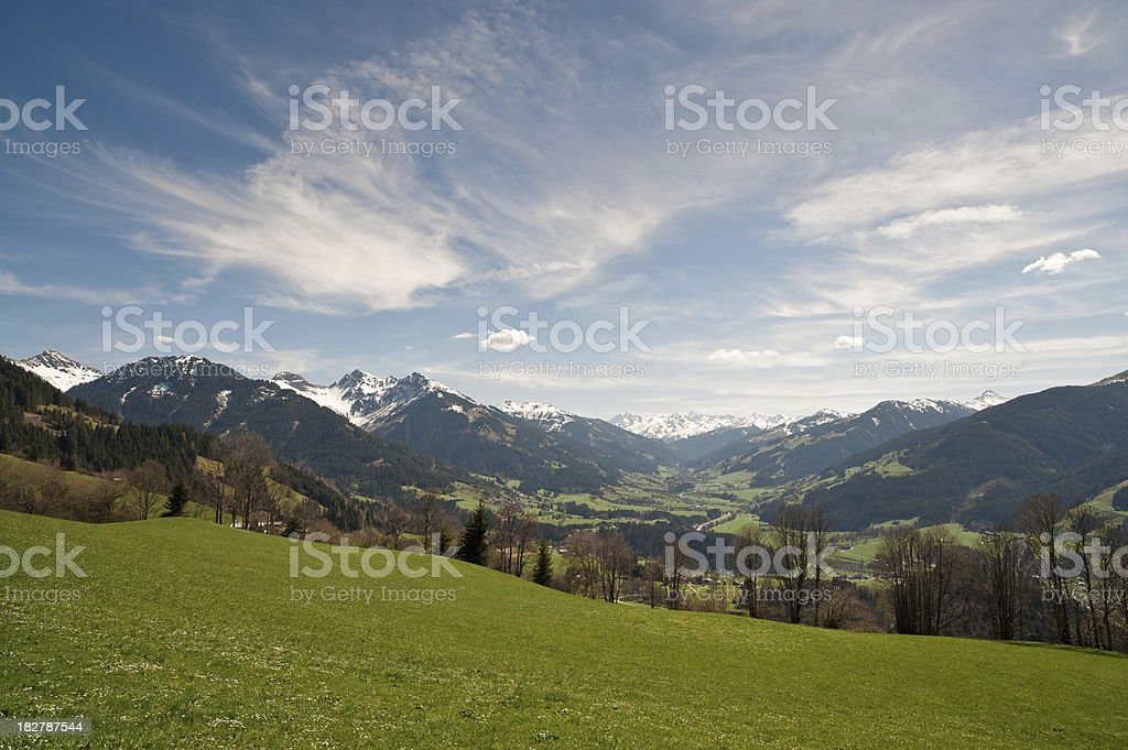 Kithbuehl Mountain Panorama royalty-free stock photo