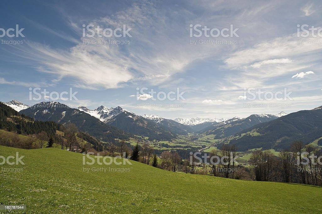 Kithbuehl Mountain Panorama stock photo