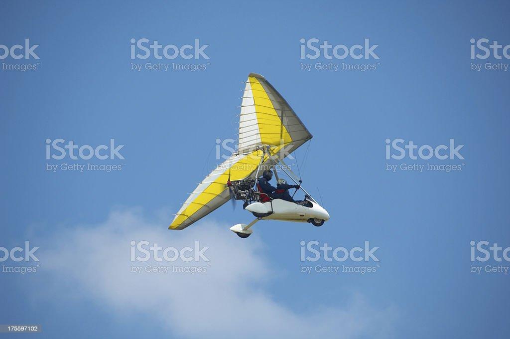 kitplane stock photo