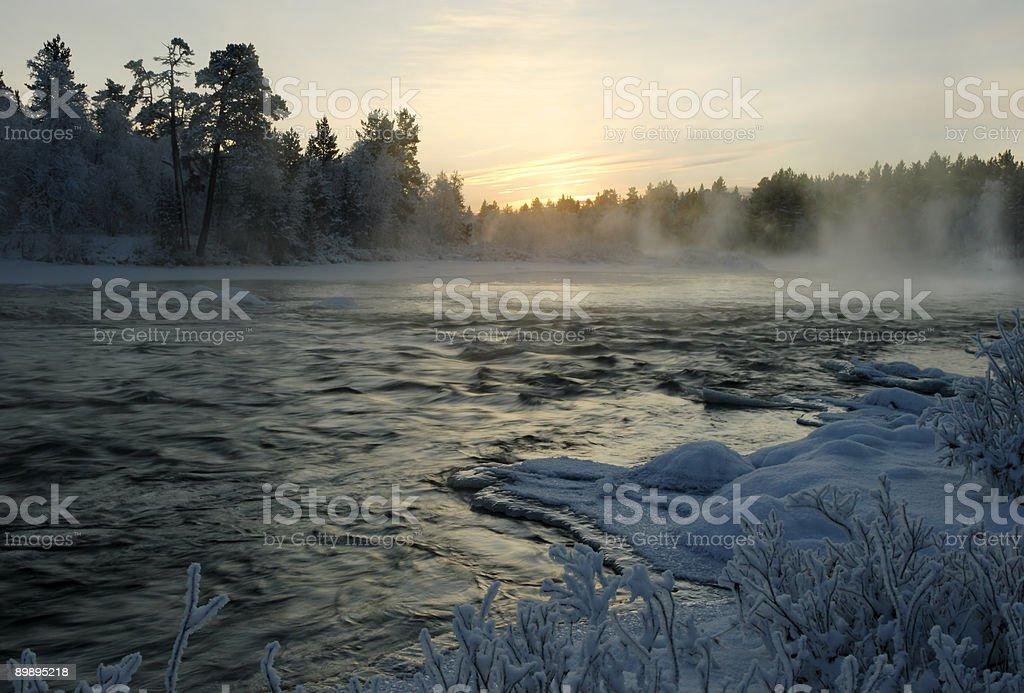 Kitsa river. royalty-free stock photo