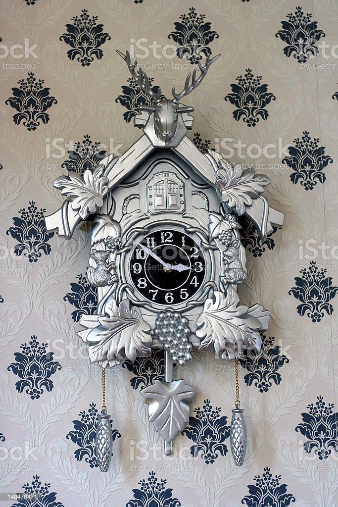 Kitsch Cuckoo Clock stock photo