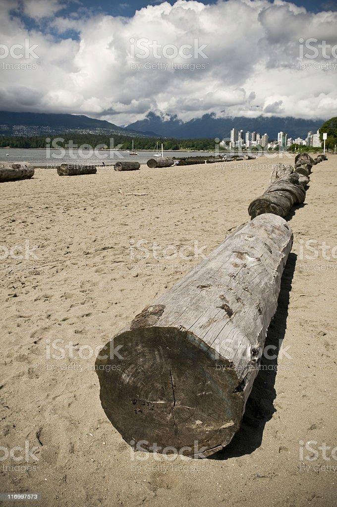 Kitsilano Beach stock photo