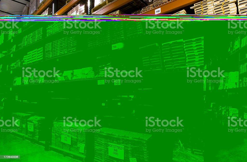 Kitting Warehouse royalty-free stock photo