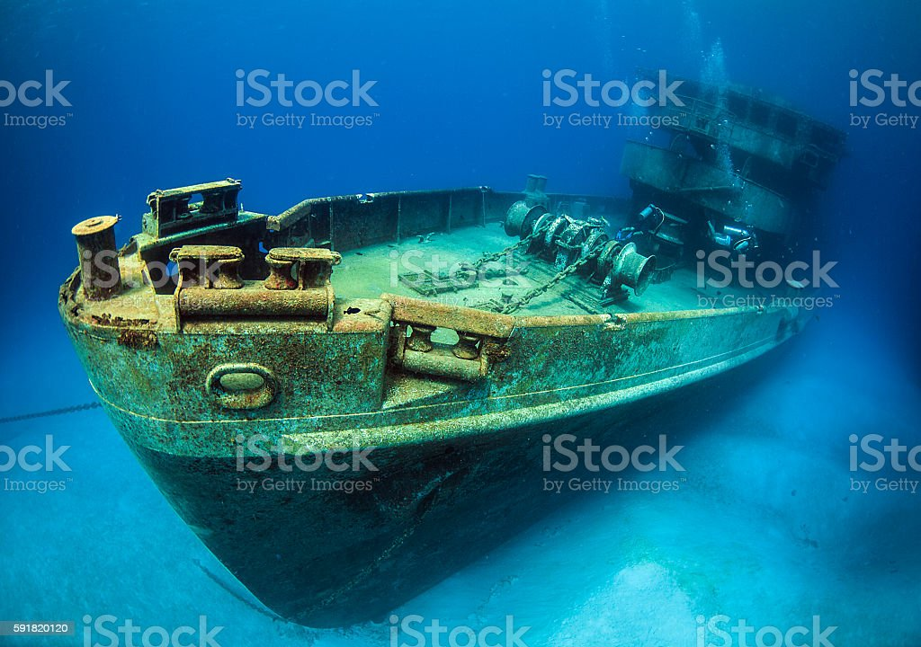 USS kittywake stock photo