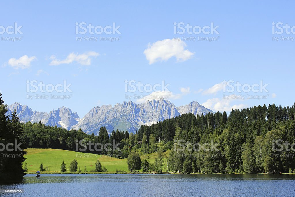 Kitzbühel , Austria stock photo