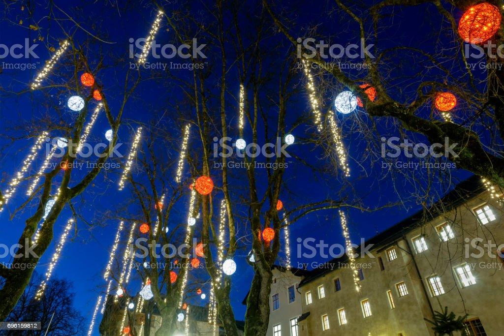 Kitzbühel at Christmas - Austria stock photo