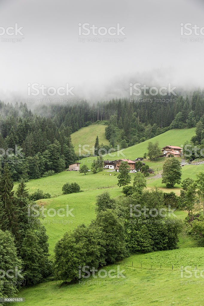 Kitzb?hel in the Tirol region royalty-free stock photo