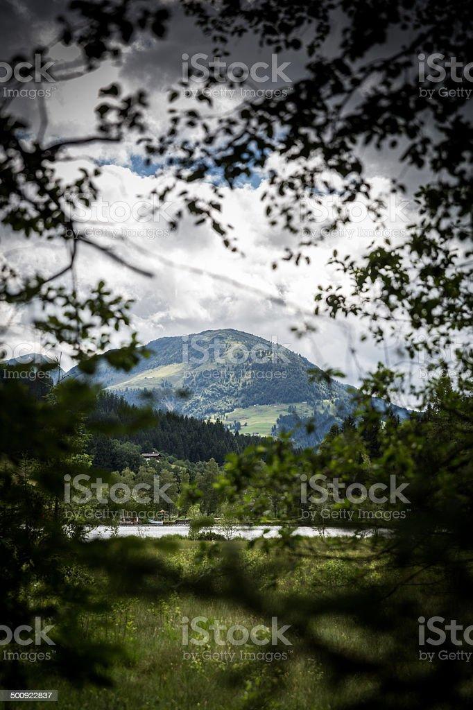 Kitzbühel in the Tirol region royalty-free stock photo