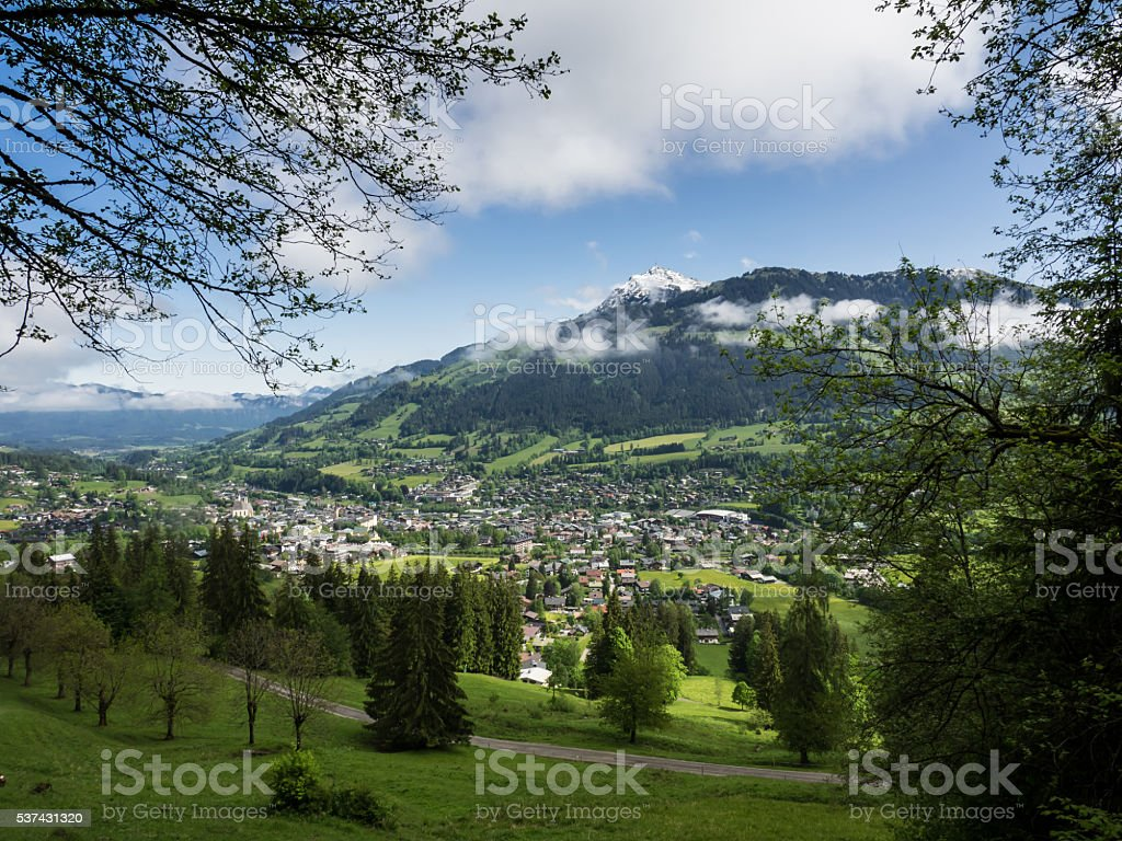 Kitzbühel stock photo