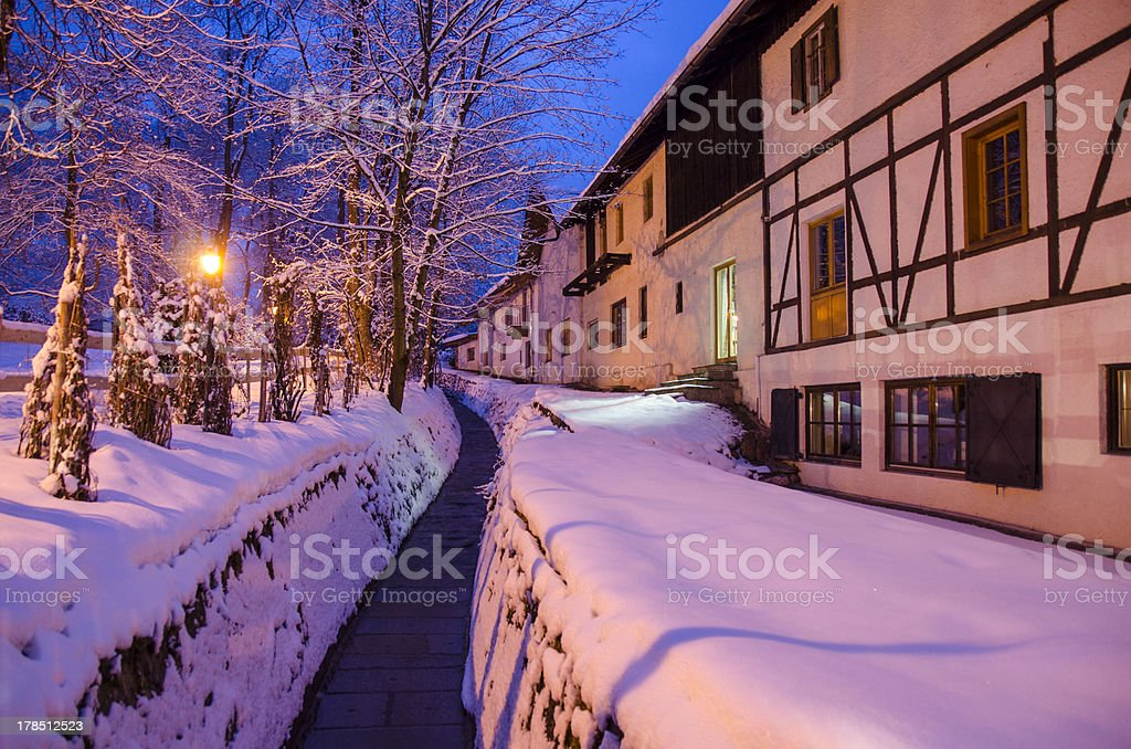 Kitzbuhel, Austrian Ski Resort stock photo