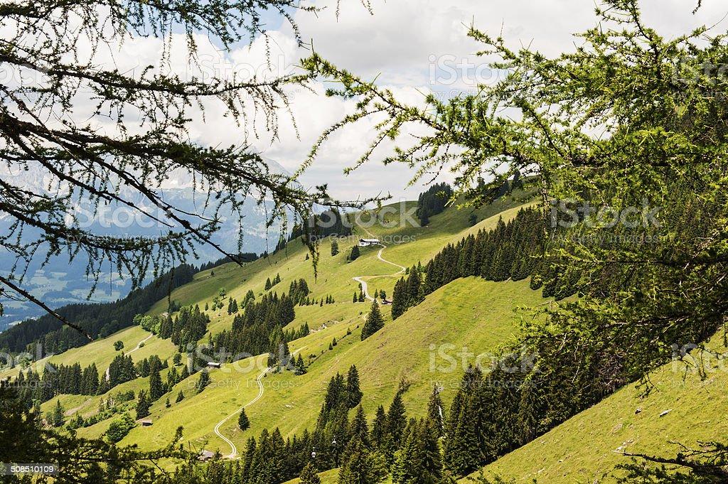 Kitzbuheler Horn in Kitzbuhel, Austria royalty-free stock photo