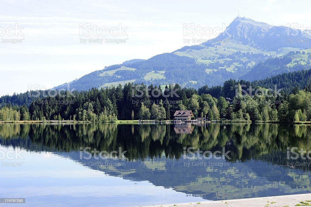 Kitzbuheler Horn Mountains in the background royalty-free stock photo
