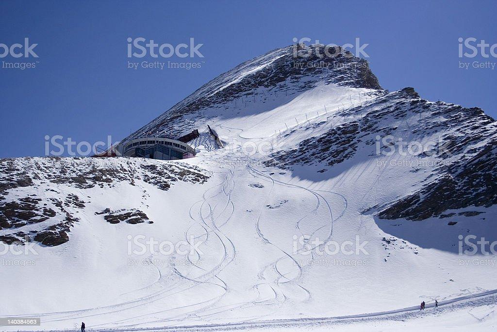 Kitzsteinhorn Summit royalty-free stock photo