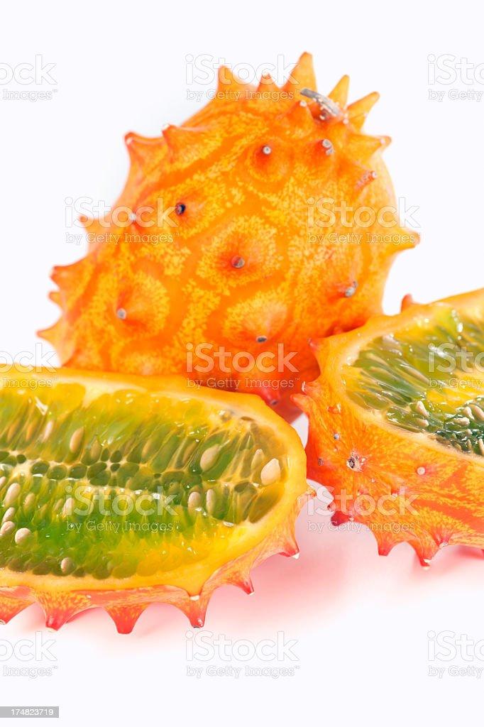 Kiwano fruit royalty-free stock photo