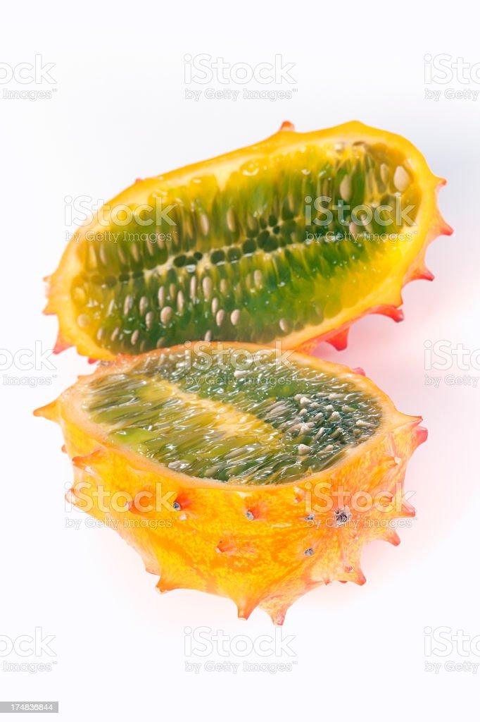 Kiwano fruit stock photo