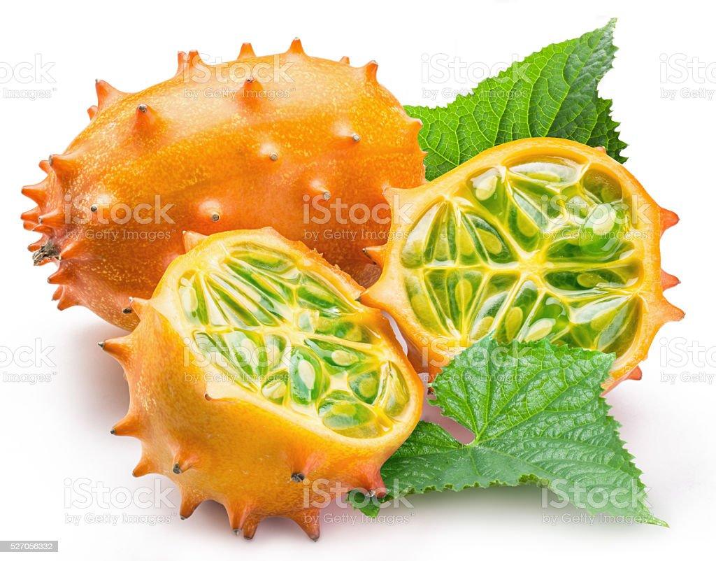 Kiwano fruits. stock photo