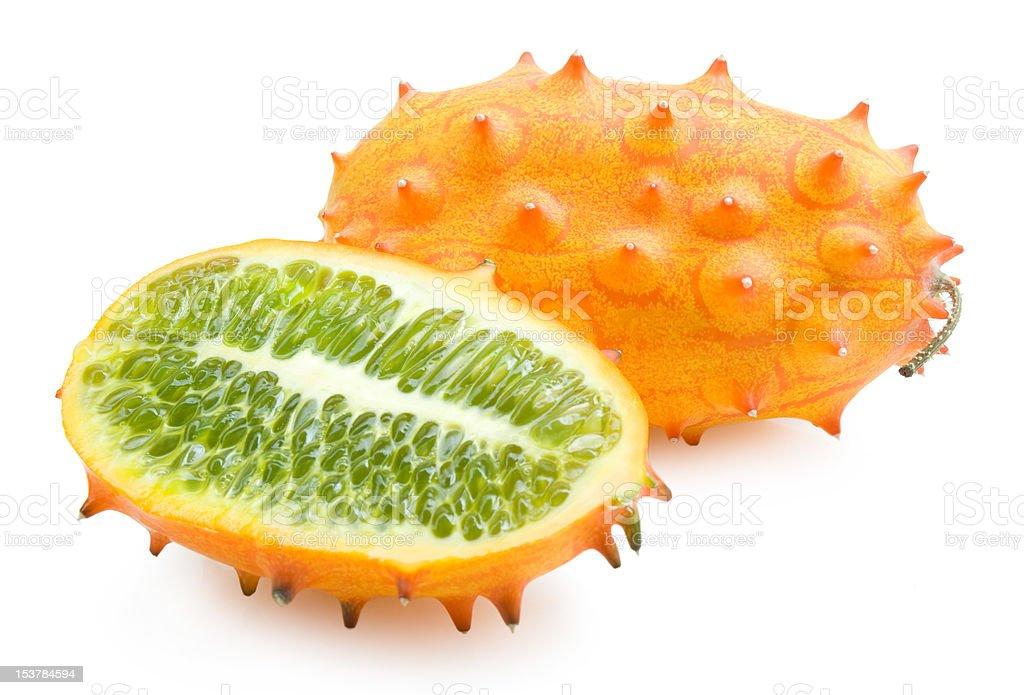 kiwano melon stock photo