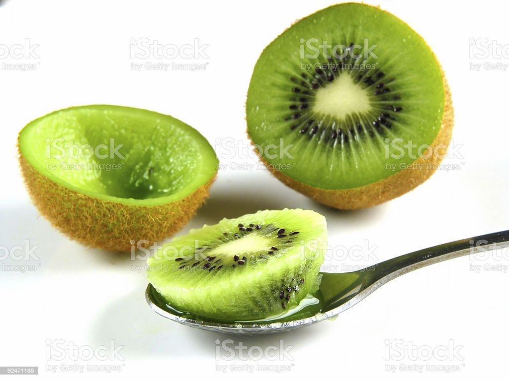 Kiwi food! royalty-free stock photo